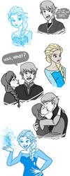 FROZEN SKETCH DUMP by chloisssx3