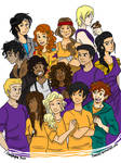 Just The Percy Jackson Gang