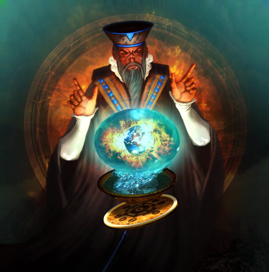 Nostradamus by EL-WALROK