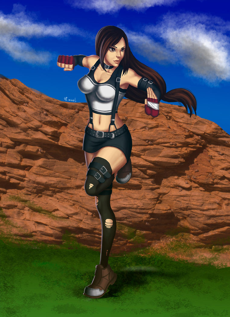 Tifa - Speed painting by Exael-X