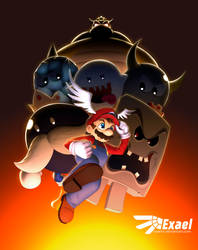 Super Mario 64 by ExaelART