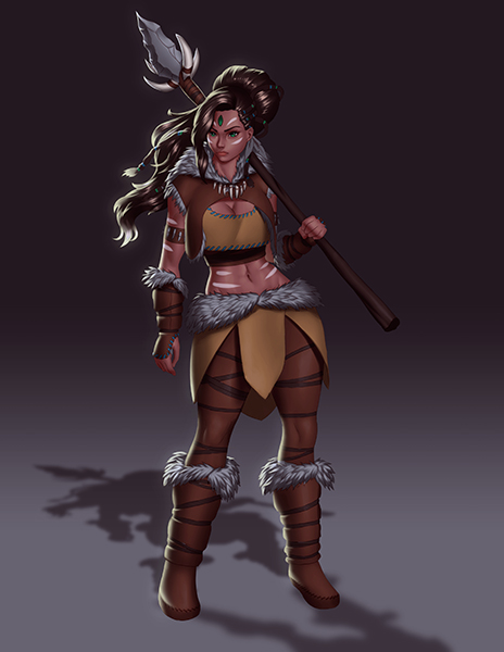 Fullcolor Fullbody Nidalee Rework by ExaelART
