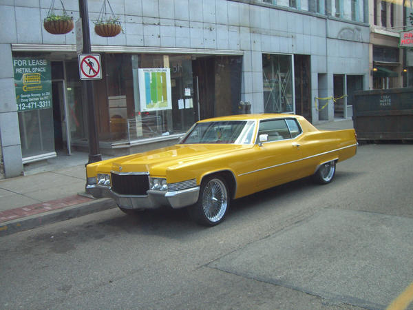 old yellow cadillac by meihua-stock on DeviantArt