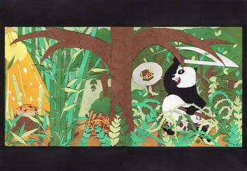 Panda Hunter by lyllopop