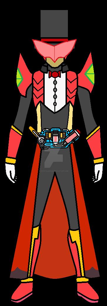 Kamen Rider Arsene by CrystalKing22