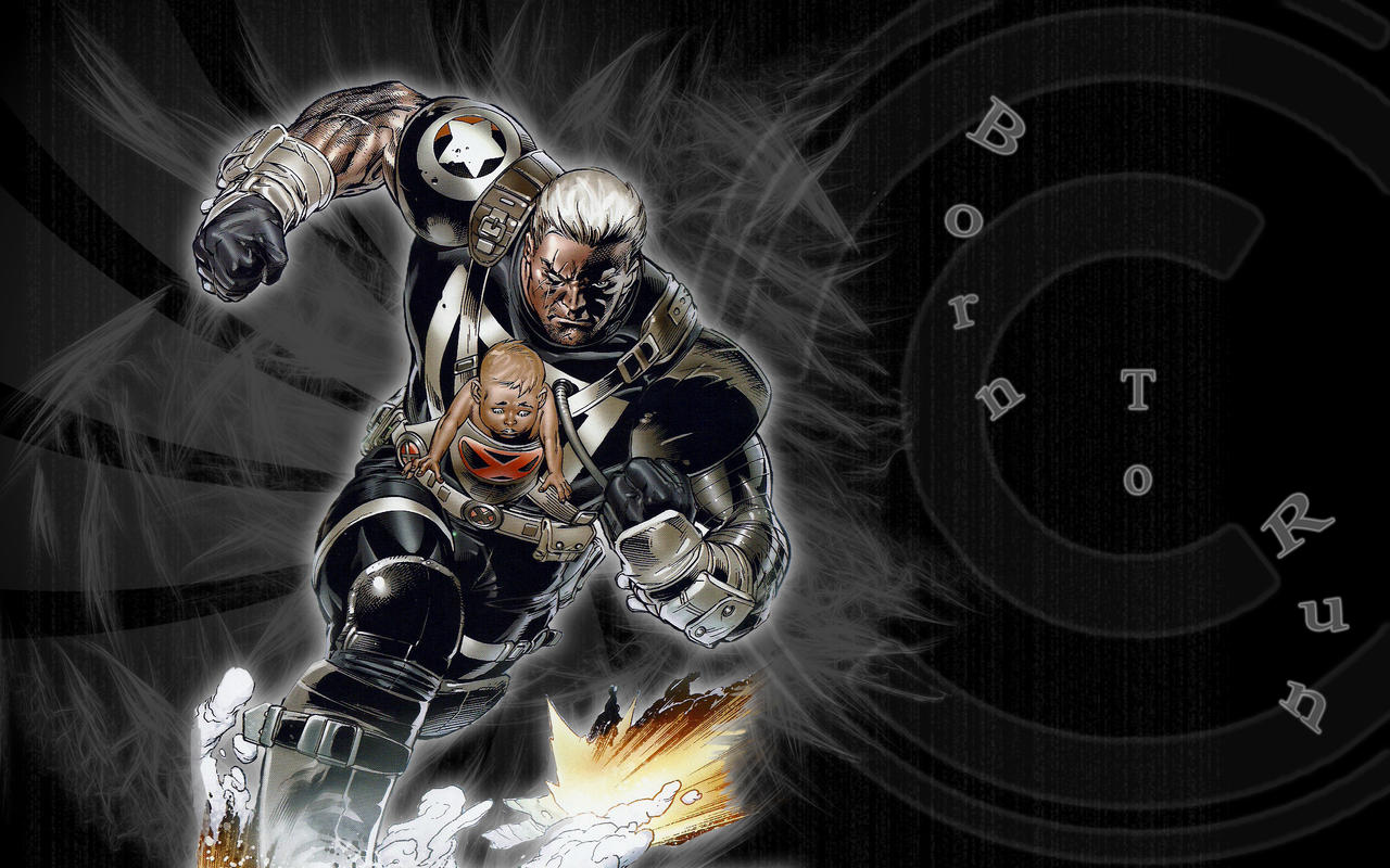 Cool Wallpaper Marvel Cable - cable_wallpaper_by_fangsword  Perfect Image Reference_952957.jpg
