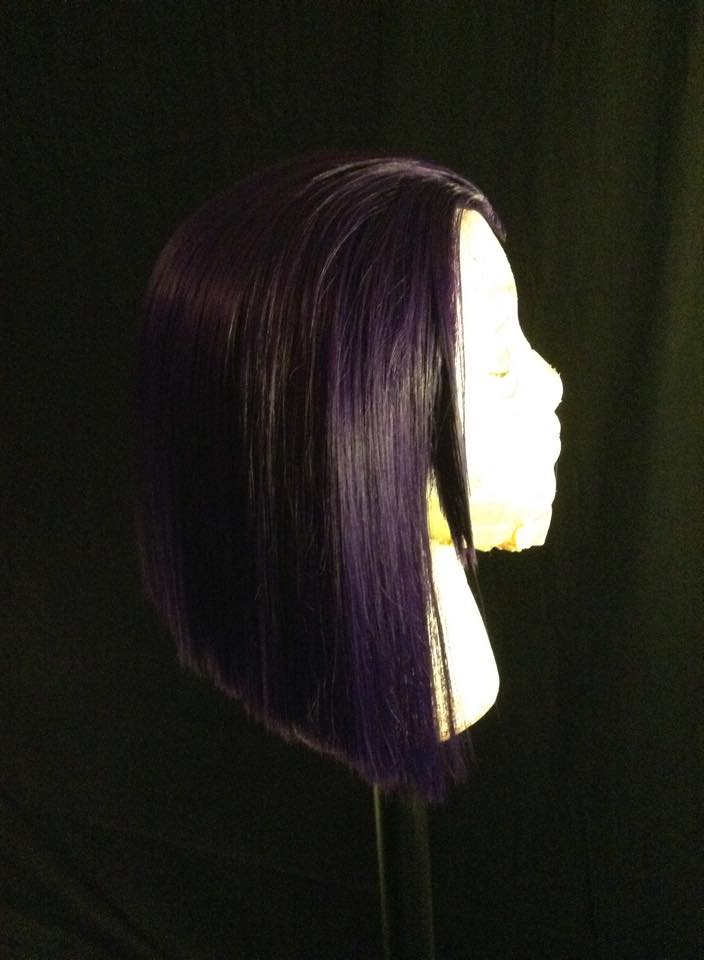 Raven Wig Commission/ tutorial 2 by Emi-leigh