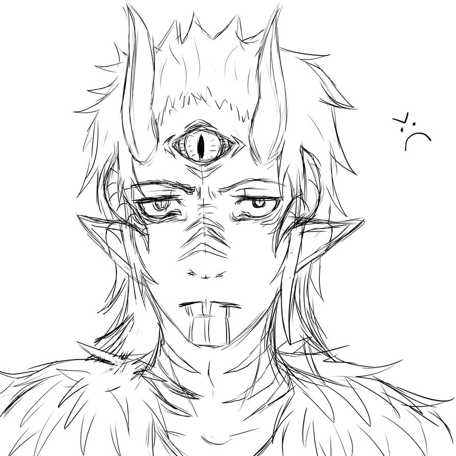 Third Eye by Valryn
