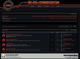 shoutgaming.com forum banner by SaintClairAginCourt