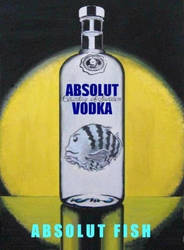 Poster 2 about ABSOLUT VODKA by acronime