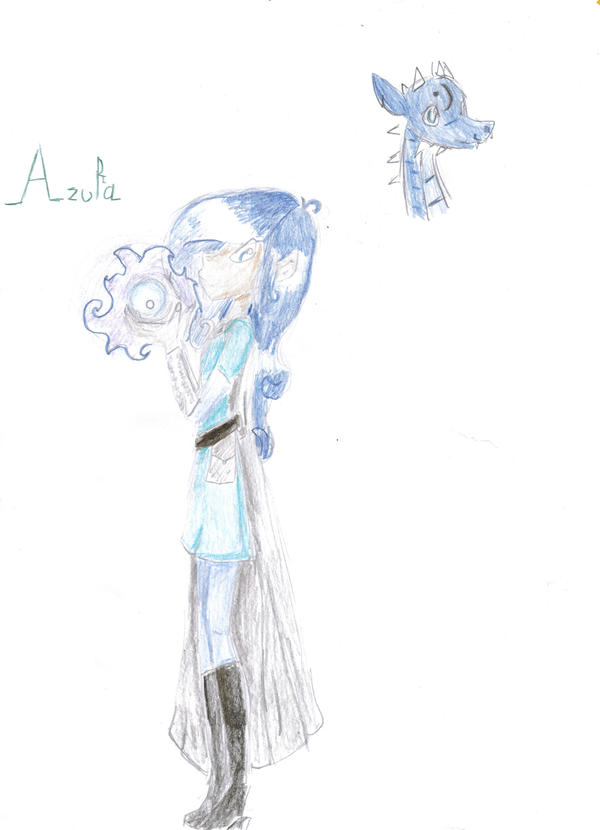 Azura by The-sorceress-of-air