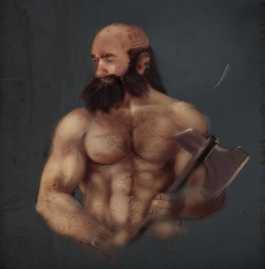 Dwalin WIP by Technoelfie