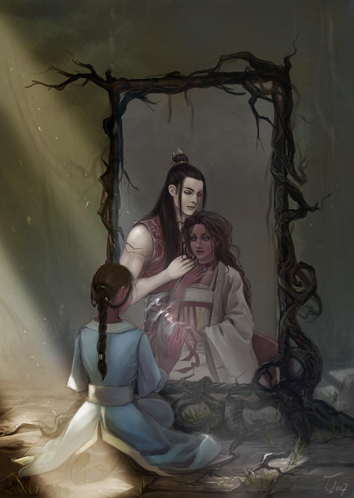 Mirror of Dreams by Technoelfie