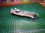 Macross Prometheus keel fins (papercraft)