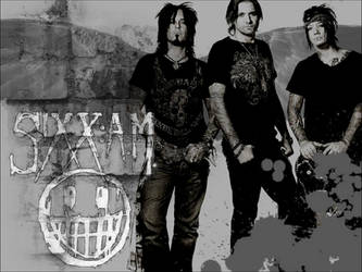 Sixx: AM Background by Harlequin-Prince