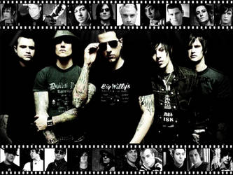 Avenged Sevenfold Background by Harlequin-Prince