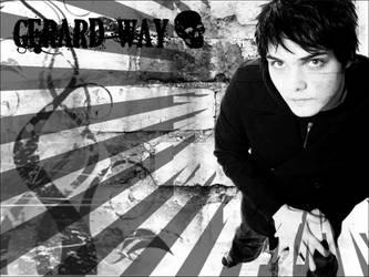 Gerard Way Background by Harlequin-Prince