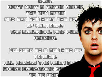 American Idiot Background by Harlequin-Prince