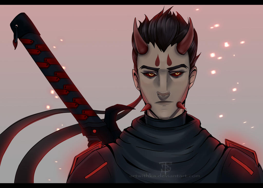 Genji - Modified Oni. by ArtwithKA