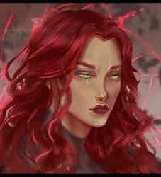 Sketch Portrait. by ArtwithKA