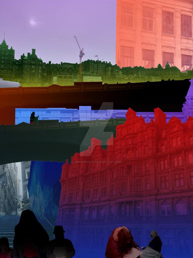 digital building collage by SenriUchiha