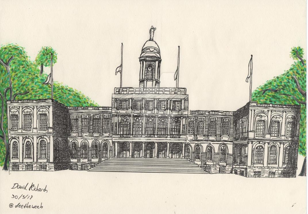 New York City Hall by SenriUchiha
