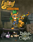Fallout Equestria - Duck and Cover! ... cover.