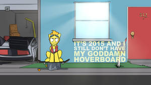 Goddamn Hoverboard by CaptainHoers