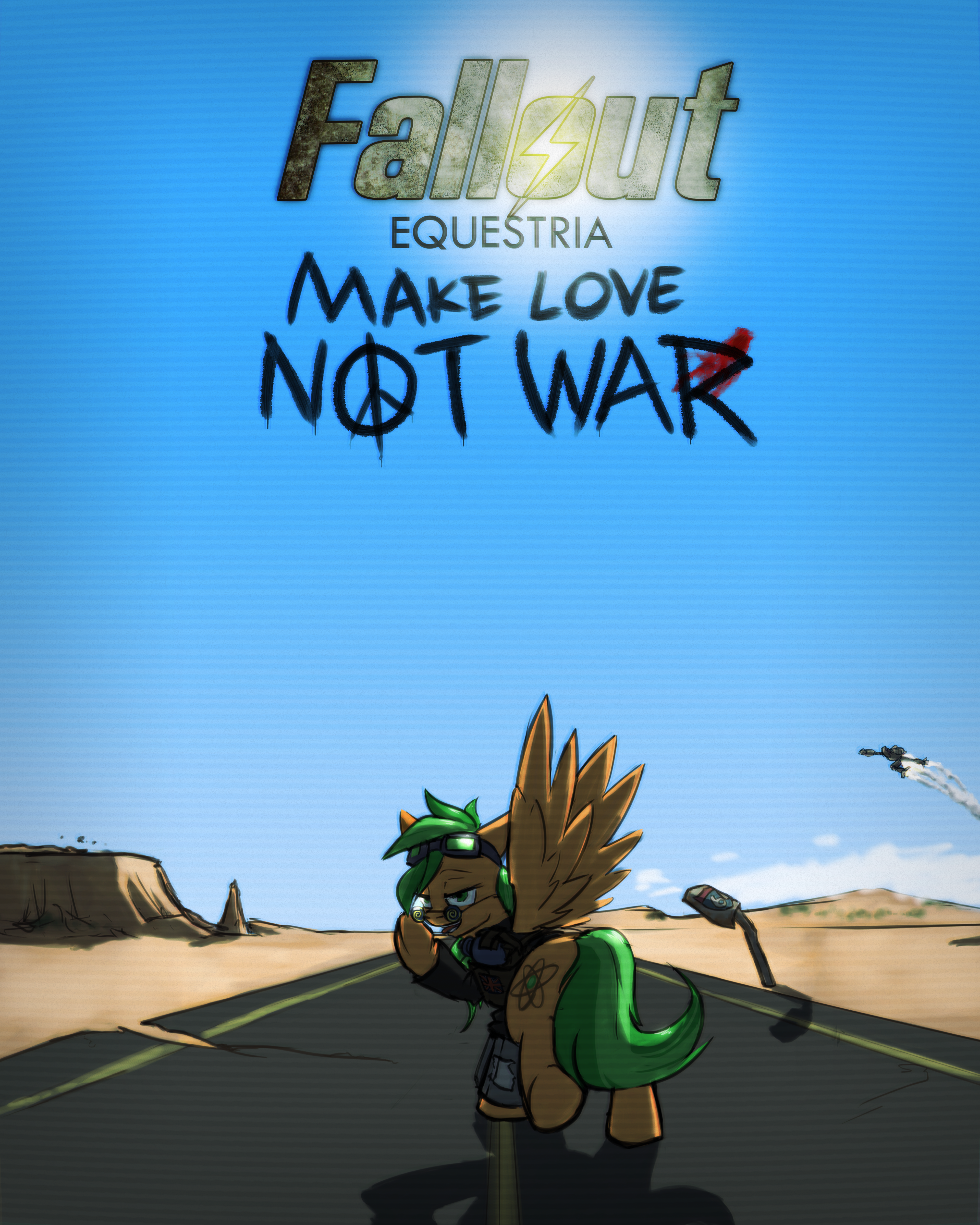 Fallout: Equestria - Make Love Not War [Cover]