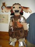Zinn puppet