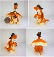 Trick or Treat Dragon by Koreena