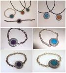 Summoning stone jewelry