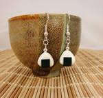 Onigiri earrings