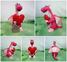 Valentine dragon 1 by Koreena