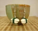 Squid sushi earrings