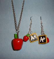 Apples for the teacher by Koreena