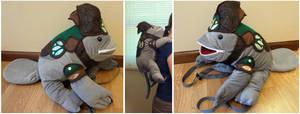 Quaggan backpack by Koreena