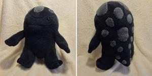Shadow calf plush