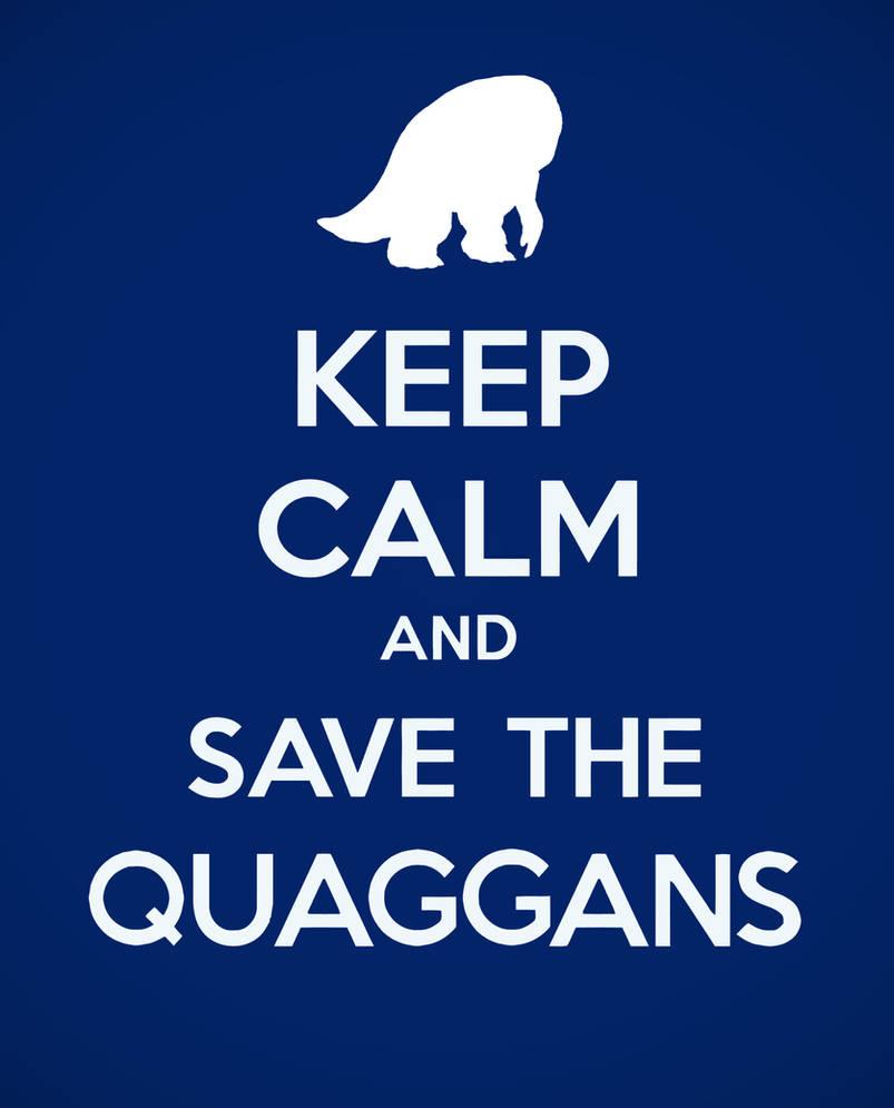Save the quaggans
