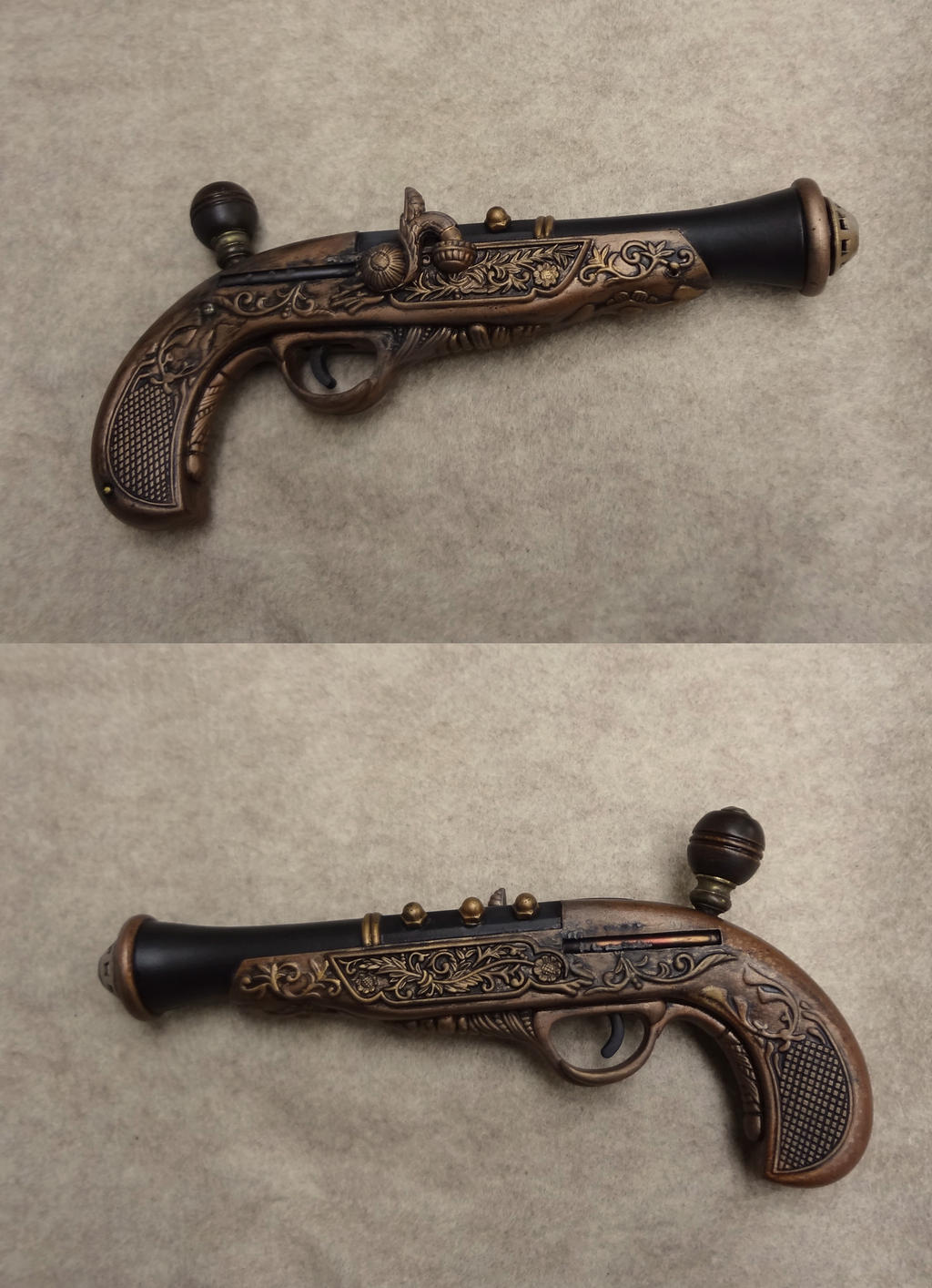Steampunk gun 1