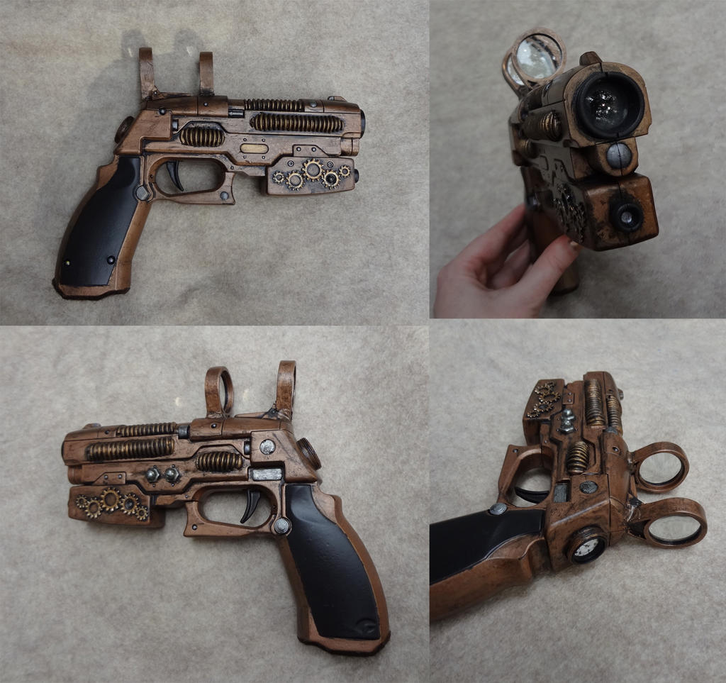 Steampunk gun 2 by Koreena