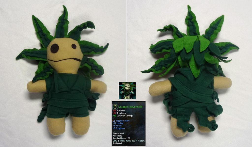 Quaggan Seaweed Doll 2 by Koreena