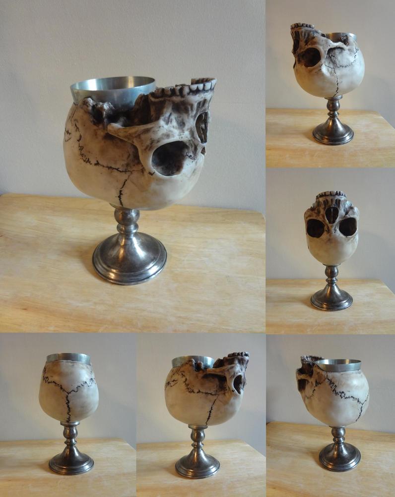 Skull goblet by Koreena