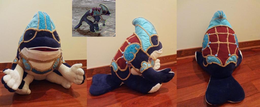 Bleepdoop plushie by Koreena