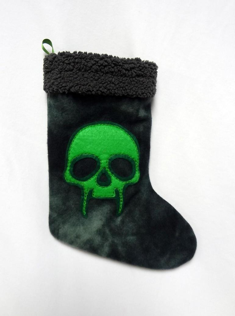 Necromancer stocking by Koreena