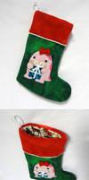 Fleece quaggan stocking 3