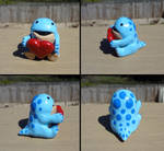 Quaggan with heart