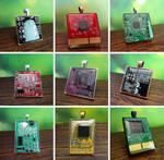 Circuit board pendants