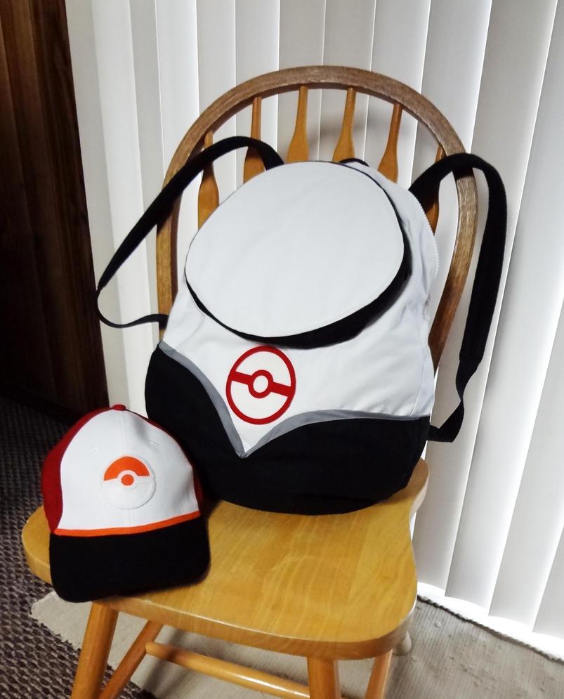 Pokemon Go hat and backpack by Koreena
