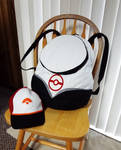 Pokemon Go hat and backpack